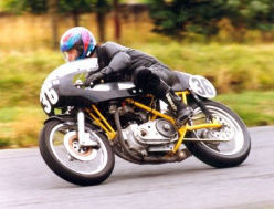 MK3 Seeley with 750 Triumph Twin